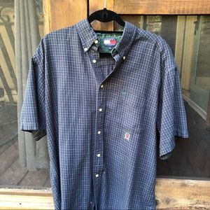 Tommy Hilfiger Cotton short sleeve button down